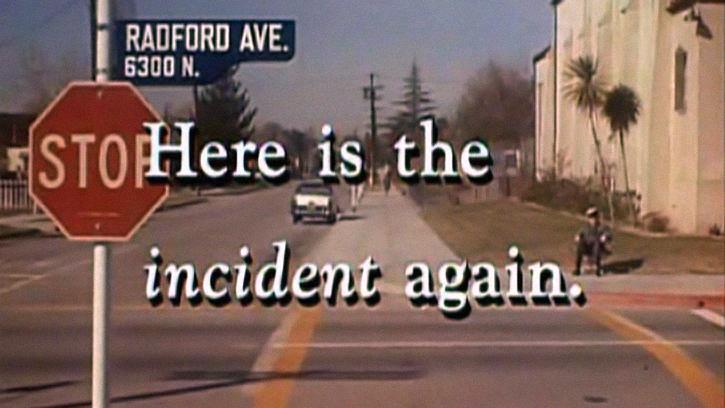 Voici l'incident