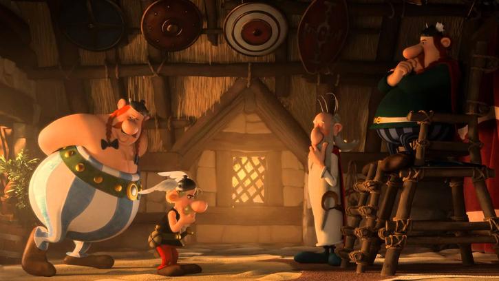 Asterix Le Domaine des Dieux (Alexandre Astier)