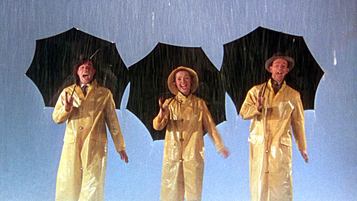 Chantons sous la pluie