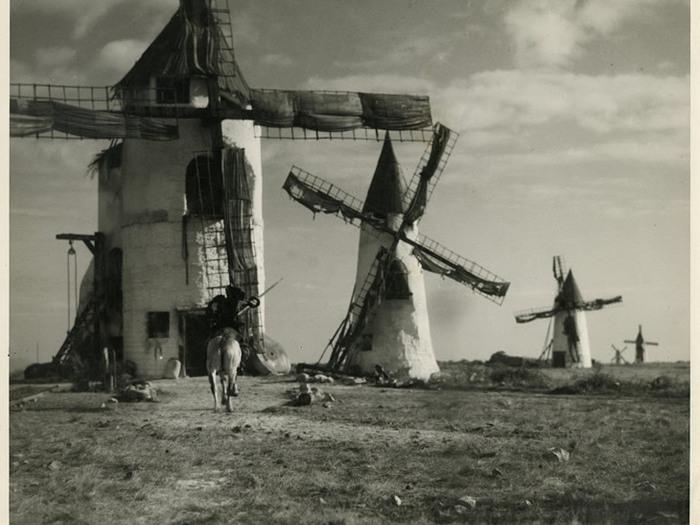 Don Quichotte (G.W. Pabst). Photographie de Roger Forster ©ADAGP, 2019