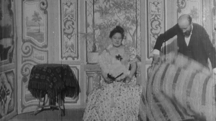 Escamotage d'une dame chez Robert Houdin