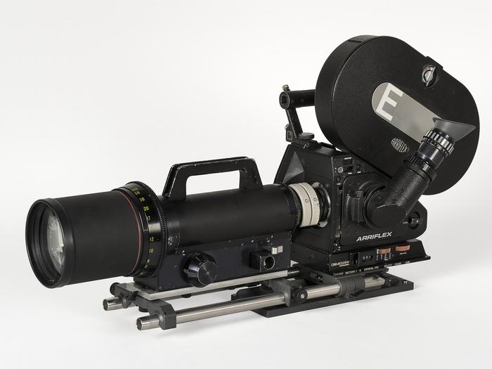 Arriflex 35 III, ayant servi au tournage de Microcosmos