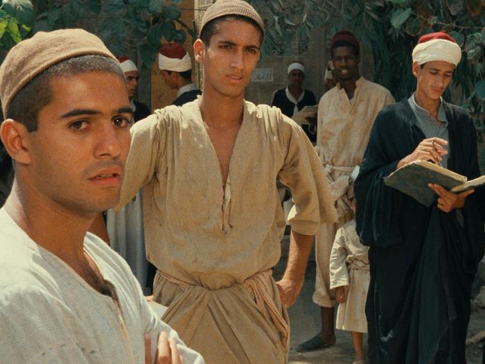 Mohsen Mohieddin dans Adieu Bonaparte de Youssef Chahine, 1985 © TF1 DA / MISR International Films.