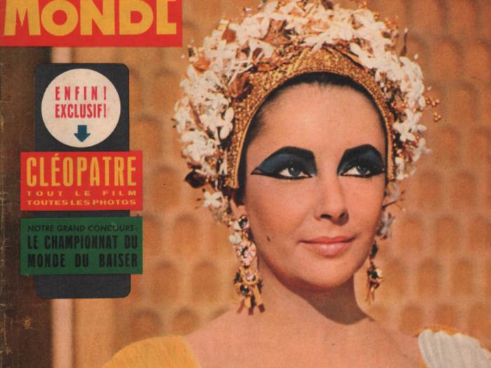 Cinémonde n°1458 du 17 Juillet 1962