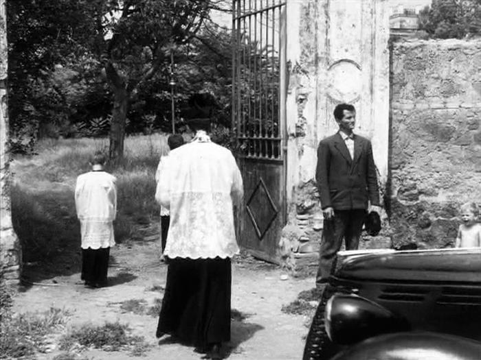 Accattone (Pier Poalo Pasolini), photogramme de la scène du rêve, plan 31