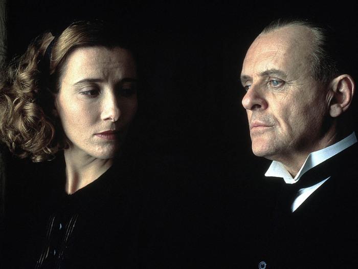 Emma Thompson et Anthony Hopkins dans  Les Vestiges du jour