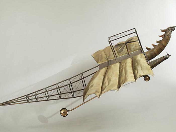 Aérobus du professeur Maboul (À la conquête du Pôle, 1912)
