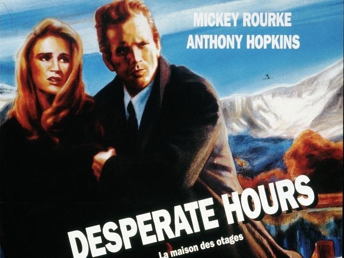 Affiche de Desperate hours (La Maison des otages, Michael Cimino, 1989) © Guy Peellaert
