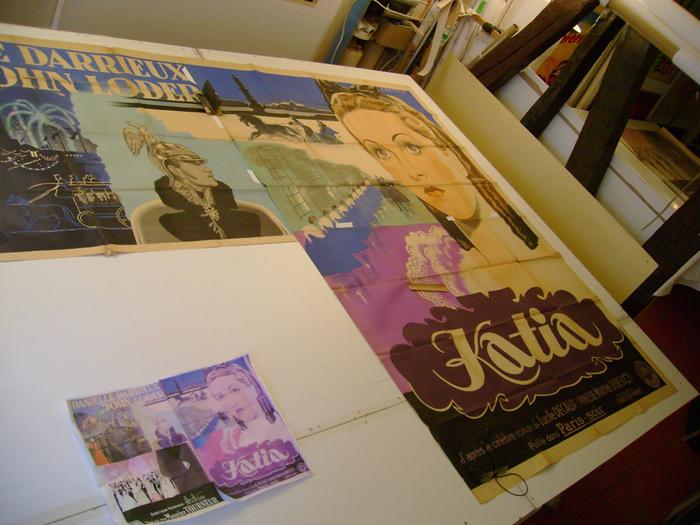 Affiche de Katia de Maurice Tourneur : le panneau manqant