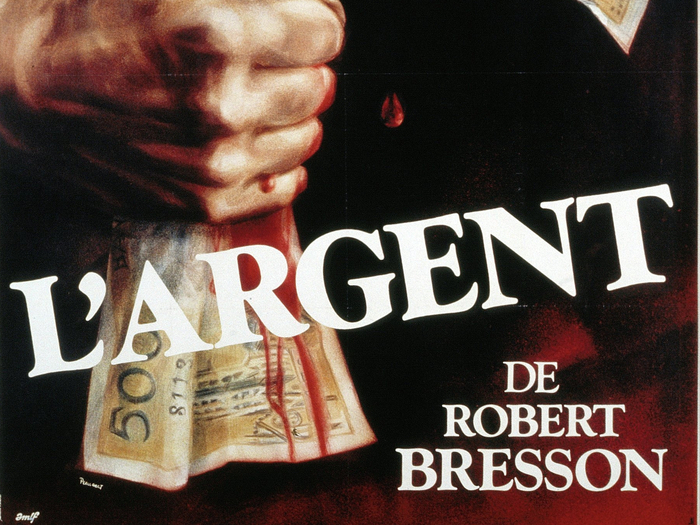 Affiche de L'Argent (Robert Bresson, 1982) © Guy Peellaert