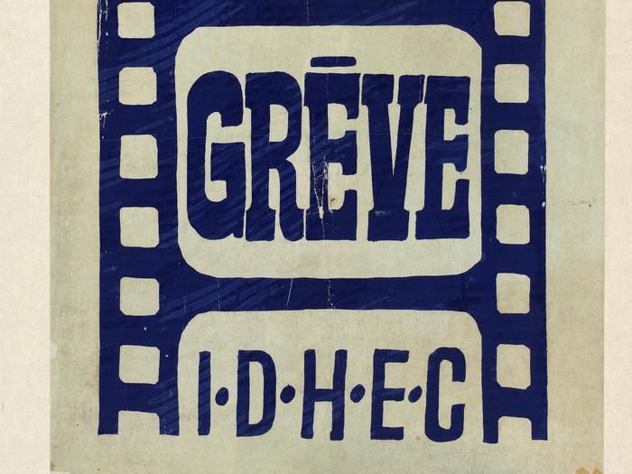 Affiche de manifestation, 1968 (A266-002)