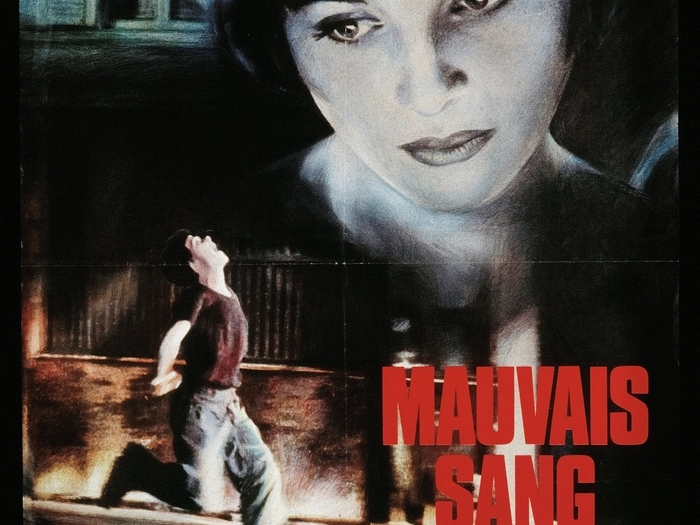 Affiche de Mauvais sang (Leos Carax, 1986) © Guy Peellaert, 1987