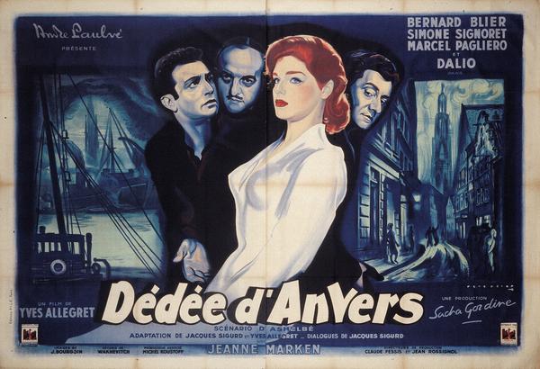 Affiche de René Péron pour Dédée d'Anvers (164 x 239 cm) © ADAGP