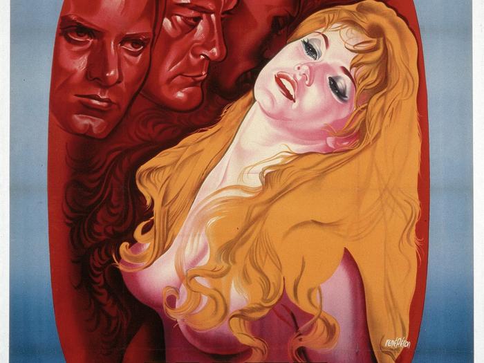 Affiche de René Péron pour Et Dieu créa la femme (164 x 123 cm) © ADAGP