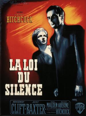 Affiche de René Péron pour La Loi du silence (163 x 123 cm) © ADAGP