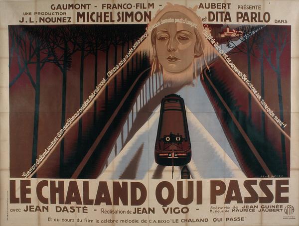 Affiche de René Péron pour L'Atalante (246 x 324 cm) © ADAGP