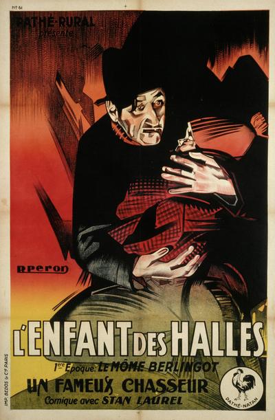 Affiche de René Péron pour L'Enfant des Halles © ADAGP