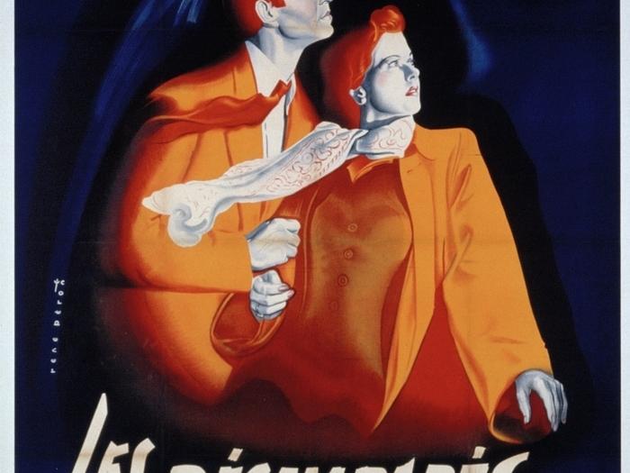 Affiche de René Péron pour Les Désemparés (160 x 120 cm) © ADAGP