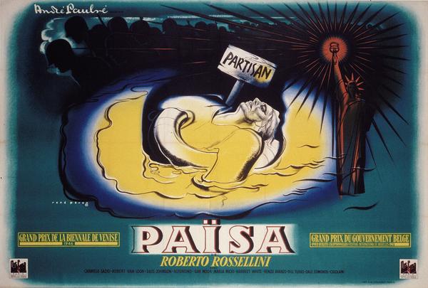 Affiche de René Péron pour Païsa (168 x 245 cm) © ADAGP