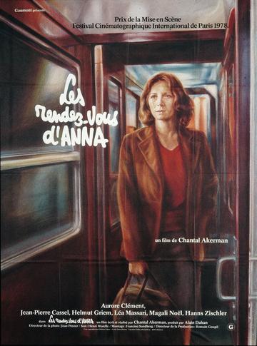 Affiche des Rendez-vous d'Anna (Chantal Akerman, 1978) © Guy Peellaert, 1979