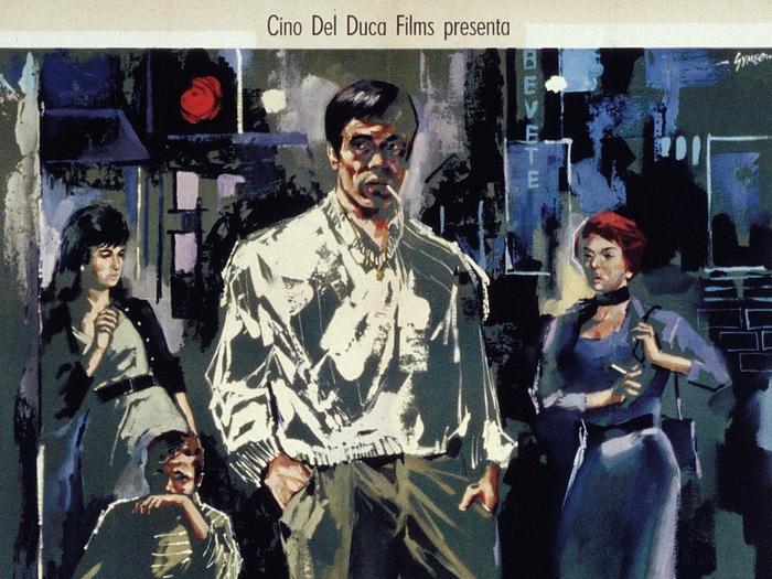 Affiche italienne d'Accattone (Pier Paolo Pasolini) © Sandro Symeoni