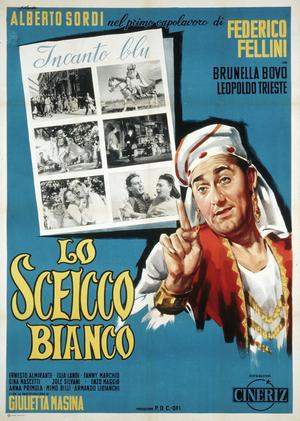 Affiche italienne pour Le Sheik blanc (1961)