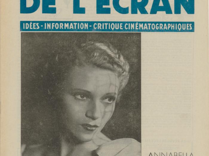 Annabella en couverture de La Revue de l'écran n°373 B du 13 février 1941