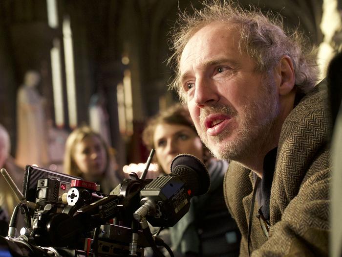 Arnaud Desplechin sur le tournage de Roubaix, une lumière (Photo Shanna Besson)