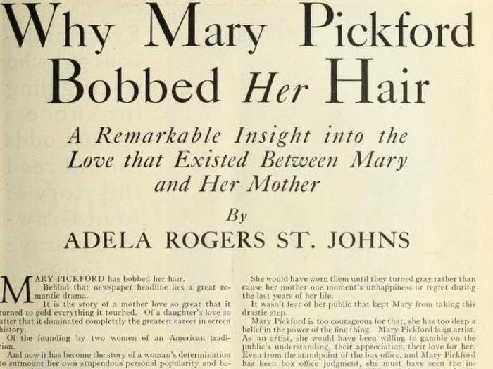 Article de Photoplay (Septembre 1928)