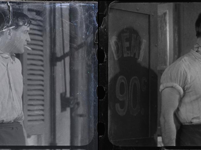 Avant et après la restauration de Marius