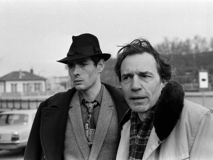 Avec Jacques Rivette dans Le Pont du Nord, 1980. Photo de tournage Catherine Faux © C. Faux