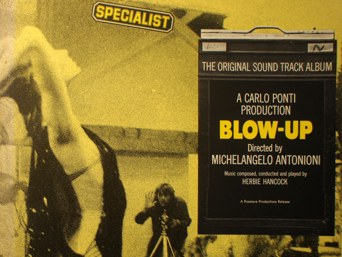 Bande originale de Blow up, disque vinyle, fonds Jacques Poitrat