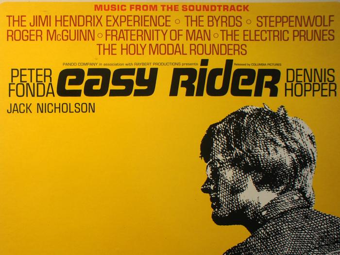 Musique de Easy Rider, disque vinyle, fonds Jacques Poitrat