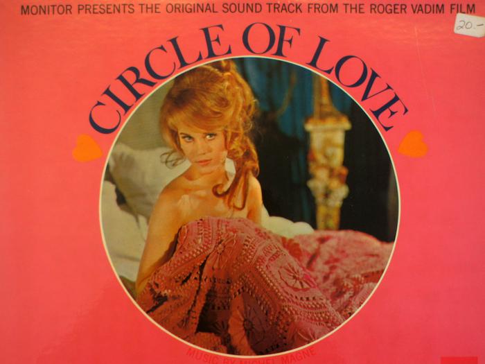 Bande originale de La Ronde, disque vinyle, fonds Jacques Poitrat