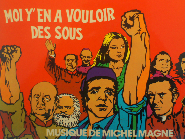 Chansons originales de Moi y'en a vouloir des sous, disque vinyle, fonds Jacques Poitrat