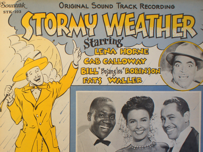 Bande originale de Stormy Weather, disque vinyle, fonds Jacques Poitrat