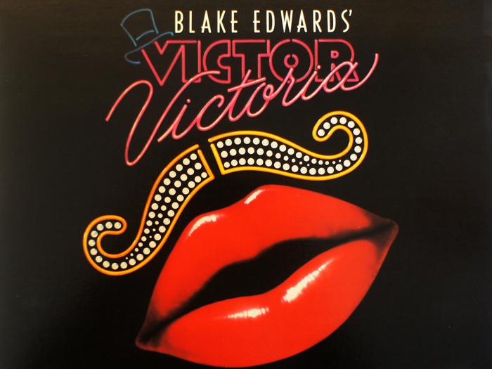 Bande originale de Victor Victoria, disque vinyle, fonds Jacques Poitrat