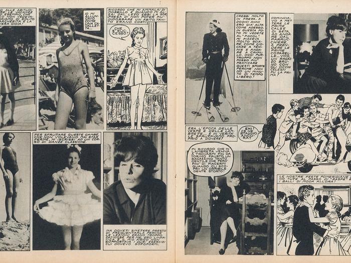 Roman-photo sur Ornella Vanoni dans Bolero Film (n°174, 10 janvier 1965)
