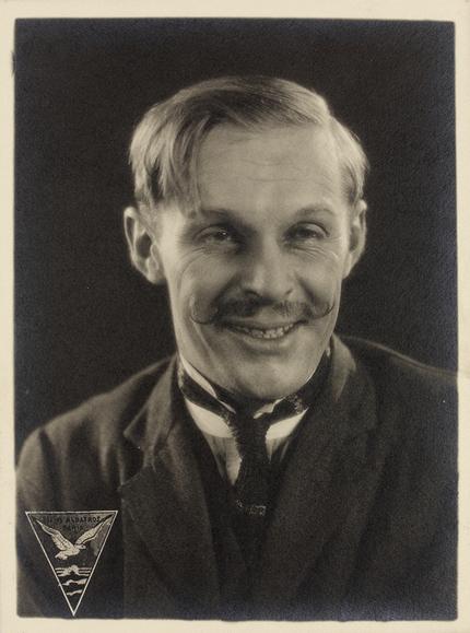 Boris de Fast, acteur pour « La Dame masquée » de Vyacheslav Tourjansky (1924), photographie de promotion © CF