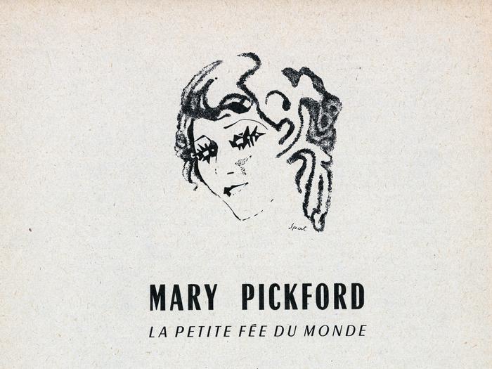 Brochure Cinémathèque française - Hommage aux Artistes Associés - Mary Pickford (détail)