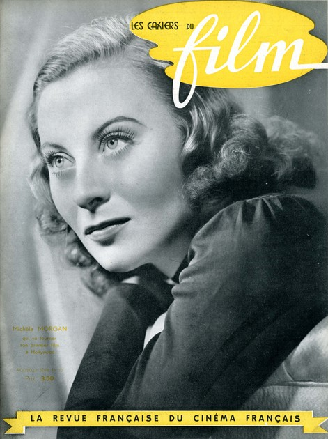 Les Cahiers du Film, nouvelle série n°10, juillet 1941