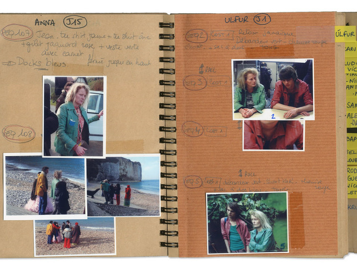 Carnet de costumes pour Queen of Montreuil (Sólveig Anspach, 2013)