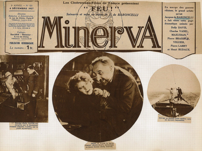 Coupure de presse extraites du fonds J. de Baroncelli (1927)