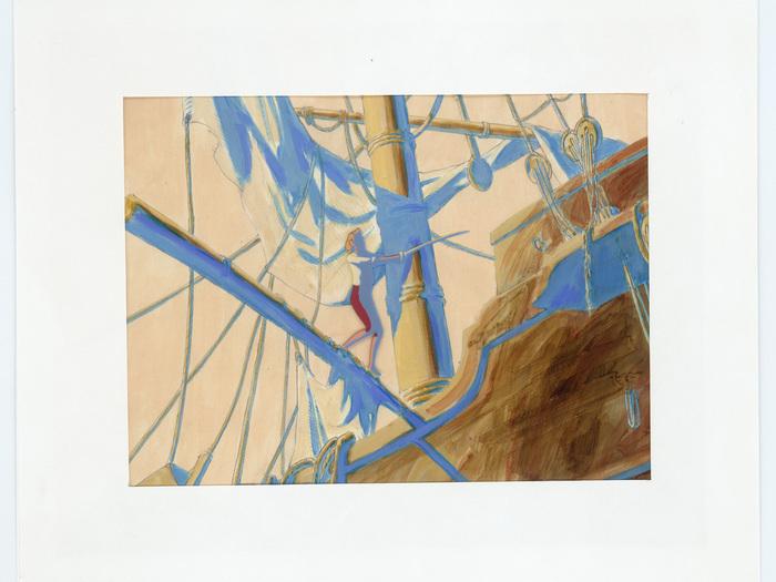 Celluloïd pour «Robinson et Compagnie» (Jacques Colombat, 1990), DR.