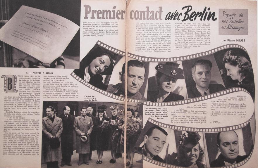 Ciné-Mondial Voyage à Berlin (1942)