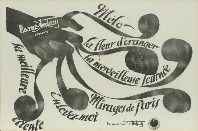 Ciné-phono magazine n°18 (novembre-décembre 1932) - publicité Films Pathé-Natan
