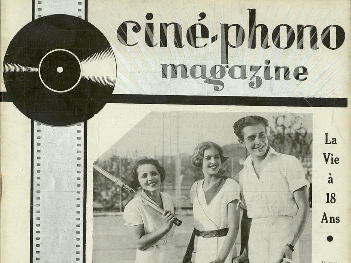 Ciné-phono magazine n°19 (mars-avril 1933)