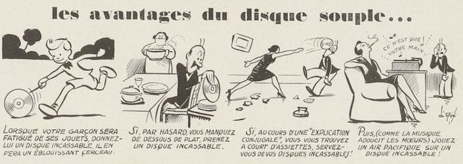Ciné-phono magazine n°2 (mai 1930) - Les avantages du disque souple