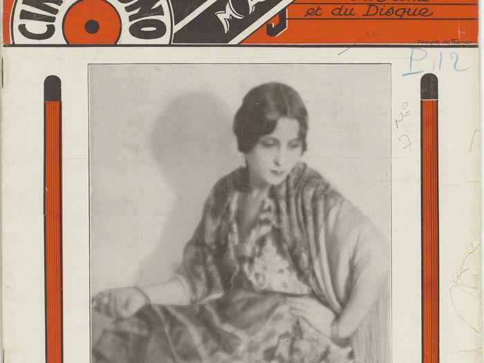 Ciné-phono magazine n°7 (novembre 1930)