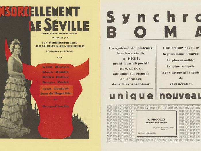 Ciné-phono magazine n°8 (décembre-janvier 1931) - Pages publicitaires